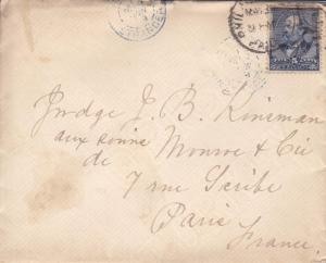 1889, Philadelphia, PA to Paris, France (18669)