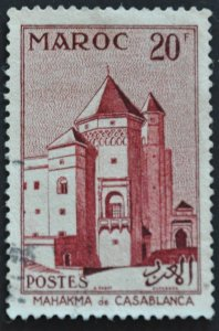 DYNAMITE Stamps: French Morocco Scott #322 - USED