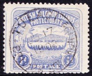CEYLON 1899 QV 15 cents Blue SG261 MH