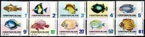 Christmas Island #22-8, 30, 32-3  MNH CV $11.30 (X6981)