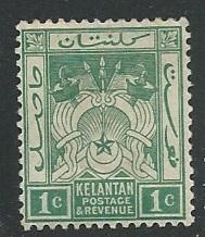 Malaya - Kelantan = Scott # 1 - MH