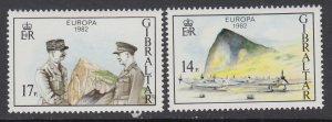 Gibraltar 435-436 Europa MNH VF