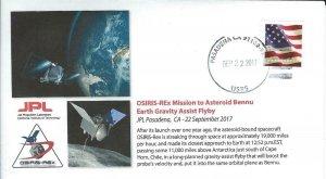 2017 OSIRIS-Rex Earth Gravity Assist Flyby JPL Pasadena 22 September