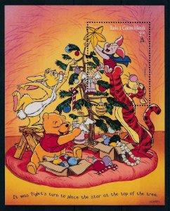 [107481] Turks & Caicos isl. 1996 Disney Winnie the Pooh Christmas Sheet MNH