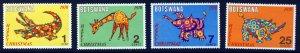 Botswana MNH 67-70 Christmas 1970