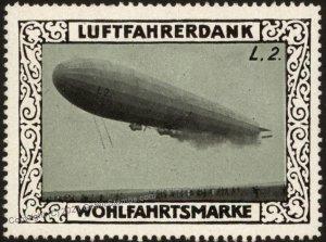 Germany Zeppelin L2 WWI Air Force Memorial Luftfahrerdank Flight MNH Cin G102787