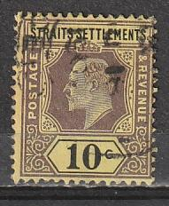 #98 Straits Settlements Used