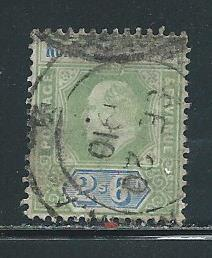 Northern Nigeria 17 2sh6d KEVII single Used