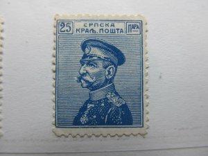 Serbien Serbia 1911 25p Fine MNG A5P18F389