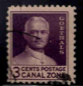 Canal Zone Scott 117 used
