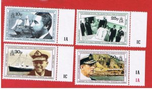 Tristan da Cunha #496-499  MNH OG   Prince Philip   Free S/H