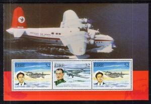 Ireland 1104a Airplanes Booklet Pane MNH VF