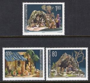 Liechtenstein 1196-1198 Christmas MNH VF