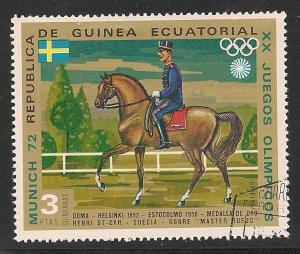 Republic de Guinea VF USED - Horses
