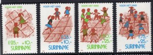 Suriname 1993 B398-401 Children and Games Mint NH