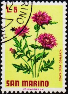 San Marino.1971 5L S.G.923 Fine Used