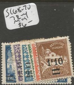 Algeria SC 68-70, 72-4 MOG (3chz)