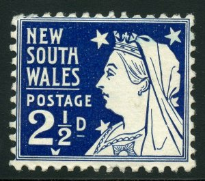 AUSTRALIAN STATES NEW SOUTH WALES SCOTT#104 MINT HINGED