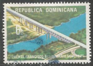 DOMINICAN REPUBLIC 724 VFU BRIDGE Z5228-8
