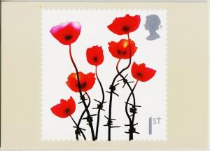 Great Britain. 2008 Lest we Forget. PHQ Cards(6) Unused