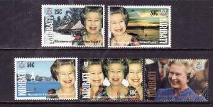 Kiribati-Sc#582-6-Unused NH set-QEII-40th Accession-1992-