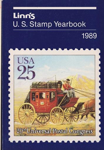 Linn's U.S. Stamp Yearbook for 1989