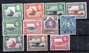 British KUT 1938 set mint MH to 2/- WS14966