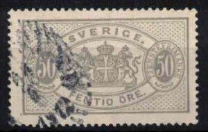 Sweden - SGO40 - 50ö Official stamp. CV 2.4£ (approx 2.78 Eur)