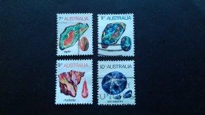Australia 1973 Gem stones Used