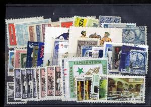 Europe Stamps 70+ Early Labels And Revenues