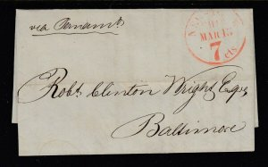 1846 Rio De Jenero to Baltimore with contents SFL