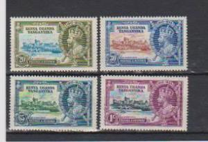 KUT 1935 ISSUE SILVER JUBILEE MLH #42-45 # LOT#483