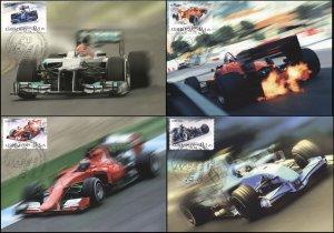 Azerbaijan. 2016. Formula 1 Grand Prix. Baku. Azerbaijan (Mint) Set