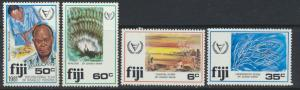 Fiji SG 608-611 SC# 438-441 MNH Year of Disabled see scan