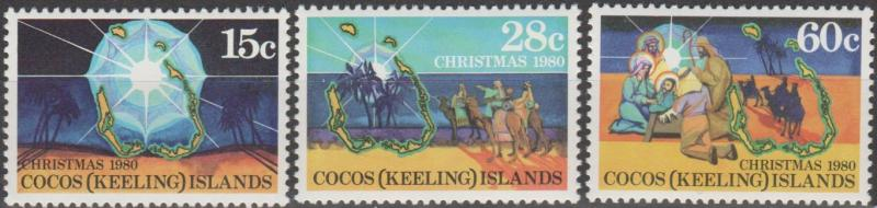 Cocos Is #53-5  MNH VF  (ST2665)