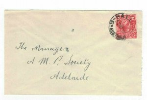 APH1437) Australia 2d Red KGV Die I Small Cover