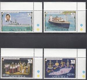 Anguilla, Sc 271-274, MNH, 1977, Silver Jubilee
