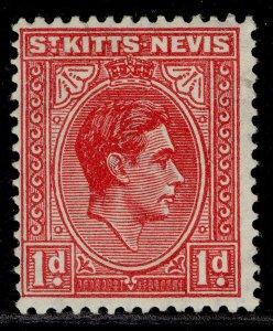 ST KITTS-NEVIS GVI SG69c, 1d rose-red, M MINT.