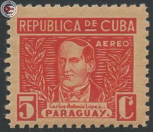 Cuba 1937 Scott C25 | MNH | CU909