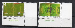MACEDONIA - 1998 - FIFA - FOOTBALL - SOCCER -