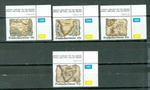 BOPHUTHATSWANA  MAPS #270-273...SET...MNH...$6.80