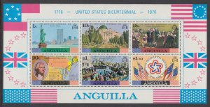 Anguilla 222a US Bicentennial Souvenir Sheet MNH VF