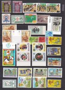 BRITISH COLONIES^^^^  MNH sets + singles < SCOUT/GUIDES JAMBOREE>$$@ cam3935bc35
