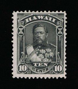 GENUINE HAWAII SCOTT #40 F-VF MINT NG 1882 BLACK KING DAVID KALAKAUA  #15825
