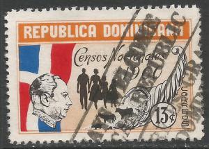 DOMINICAN REPUBLIC 514 VFU Z2653-1