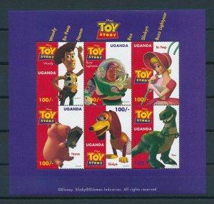 [25070] Uganda 1997 Disney Movie Toy Story MNH