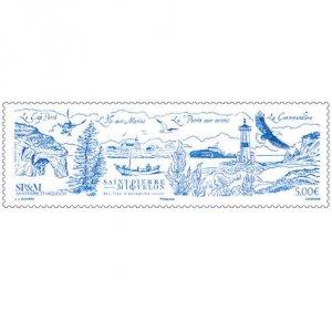 2021 St Pierre & Miquelon Exceptional Islands (Scott NA) MNH