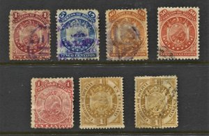 STAMP STATION PERTH Bolivia #7 Early Stamps Used - Unchecked