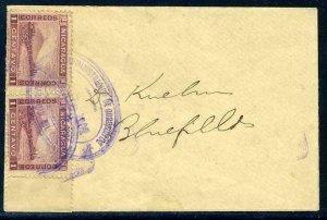 Nicaragua 1902 Kuehn Cover Bluefields Local C103 ⭐⭐⭐⭐⭐