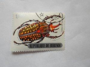 burundi stamp cto og mint hinged. # 18